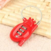 Wholesale 3 digit Combination Padlock Heart Shape coded Lock Password Padlock Luggage Locks CR-015 from china suppliers