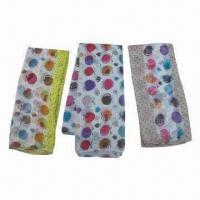 Buy cheap Fruit Pattern Printed Scarves, Made of Polyester, Comes in Various Colors from wholesalers