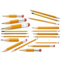 Buy cheap Cheapest and Good Quality Black Lead School & Office Wooden Pencil with eraser from wholesalers