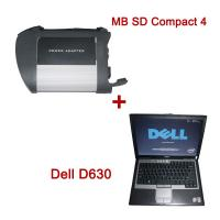 Wholesale MB Star C4 Sd connect + Dell D630 Laptop + 2013.7 HDD from china suppliers
