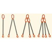 High Quality G80 Type Alloy Steel 4 Legs Chain Slings with sling hook Manufactures