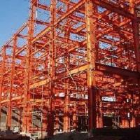 Buy cheap Steel Structure Building with Main Frame and Welded Steel Columns and Beams from wholesalers