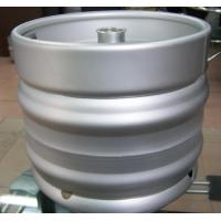 Wholesale Popular AISI 304  Food grade stainless steel container drum draft empty Euro beer keg 30L barrel from china suppliers