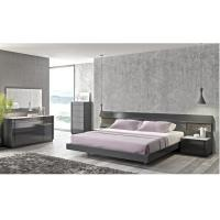 Buy cheap Good Quality Modern High Gloss King Size Bedroom/ E1 MDF/ Long Headboard from wholesalers