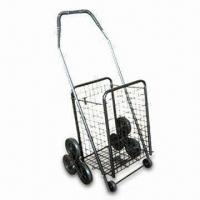 Wholesale 3 Wheels Foldable Luggage Cart, Available in Various Colors from china suppliers