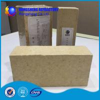 Wholesale Insulating Silica Fire Brick For Glass Kiln , Acid Resistance Refractory Fire Bricks from china suppliers