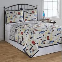 China Polyester Washable Patchwork Quilt Bedding Set Queen Size For Wedding on sale