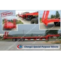 Buy cheap CLW9320TDP Low bed semi-trailer from wholesalers