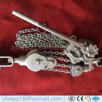 Buy cheap Lever Chain Hoist/Hand Operated Lever Block / Vital Manual Chain Hoist from wholesalers