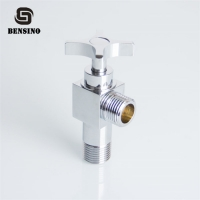 Buy cheap Chrome Plated Zinc Handle 15mm Toilet Angle Valve from wholesalers