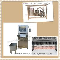 Manual & Automatic Poultry Brine Injector Manufactures