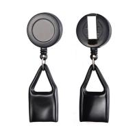 Buy cheap Plastic Round Heavy Duty Badge Reels With Lighter Holder Ready Eco Friendly from wholesalers