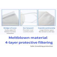 Buy cheap Outdoor KN95 Disposable Medical Mask Comfortable High Elastic Ear Hooks from wholesalers