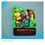 Buy cheap souvenir promotional PVC fridge magnet sticker from wholesalers