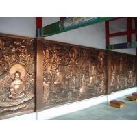 Wholesale Buddhist Bronze Relief Sculpture from china suppliers