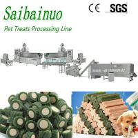 Buy cheap Perfect Pet Treat Dog Food Dog Chews Making Machine with CE Certificate from wholesalers
