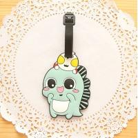 Buy cheap Wholesale High Quality Cute Animal Shaped PVC Luggage Tags For Kids from wholesalers