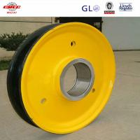Buy cheap Industrial Q345D Steel Sheaves For Excavator / Bulldozer With GB ASTM from wholesalers