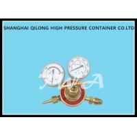 Dissolved Acetylene Industrial Gas Regulator With Inlet Connection G5/8' Manufactures