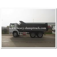 Sinotruk SWZ 336 hp heavy duty dump truck with 20m3 cargo body and strong reinforced frame