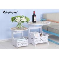 Buy cheap Mini Leisure Side Desktop Computer Table Small Angle Table Custom Made from wholesalers