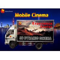 Buy cheap Simple Dynamic Bubble Lighting Wind Mobile 5D Cinema Truck 2.25KW 220V from wholesalers