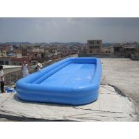 Buy cheap Lovely New Design Huge Commercial PVC Adults and Kids Inflatable Pool with Various Colours from wholesalers