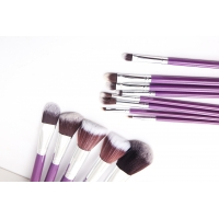 Buy cheap Foundation Concealer Purple 13pc Pro Makeup Brush Kit from wholesalers