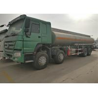 Wholesale Four Axles Fuel Tanker Truck SINOTRUK HOWO 30 - 40 Tons For Oil Transportation from china suppliers