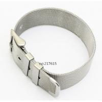 Buy cheap Europe and Italy popular18mm New High Quality Stainless Steel Watch Mesh Bracelets Straps from wholesalers