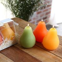 Buy cheap Brushed Pear Non Toxic Scented Candles Gift Sets Handmade Customized Fragrance from wholesalers
