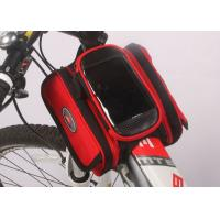 Wholesale Water Resistant Bicycle Top Tube Bag , Small Top Tube Phone Bag 12*10*5CM from china suppliers