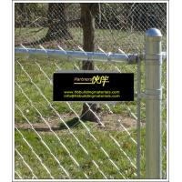 Buy cheap China chain link fence suppliers, black chain Link fence, Galvanized Chain Link Fence from wholesalers