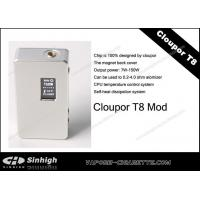 Cloupor T8 Mod E-cig High Voltage 5.6V - 14V Box Mod Cloutor T8 Manufactures