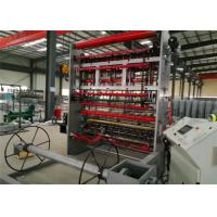 Buy cheap Hot Fixed Knot Cattle Fence Machine , Electrical 1.6-3.5MM Galvanized Wire Machine from wholesalers