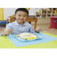 Buy cheap Custom Safe Heat-resisting Non-Slip Food Grade Silicone placemats For Children from wholesalers
