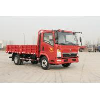 Buy cheap 10 Ton 4x2 Sinotruk Howo7 Heavy Cargo Truck Red Color 6 Tires With Air Conditioner from wholesalers