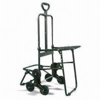 Wholesale Foldable Luggage Cart with Chair, Made of Aluminum Tube Inner Drag Rod from china suppliers
