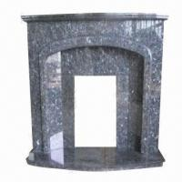 Buy cheap Marble Fireplace, Carved with flower and grass from wholesalers