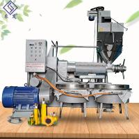 Buy cheap 5 Ton / Day Industrial Oil Press Machine Groundnut Sunflower Oil Presser Machinery from wholesalers