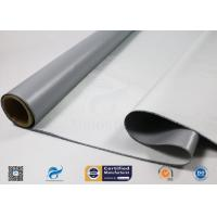 Buy cheap Durable Silicone Coated Fiberglass Cloth 530g High Temperature Resistance from wholesalers