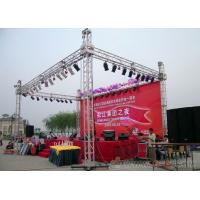 Buy cheap Event Display Booth Aluminum Stage Truss Easy to Set Up and Disasseble from wholesalers