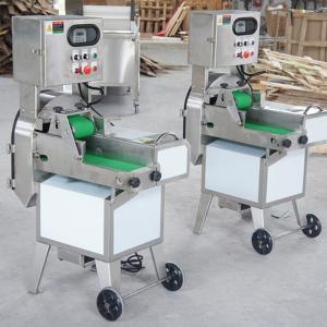 SH-125 Large Dicing Machine  Large Leaf Vegetable Cutting Machine Vegetable Slicer Cutter Manufactures