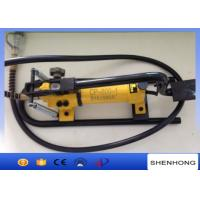 Buy cheap Overhead Line Construction Tools , 70Mpa Pedal Type Foot Operated Hydraulic Oil Pump For Power Supply from wholesalers