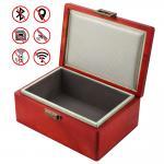 Buy cheap Classic Faraday Key Box , Birch Wood Box For Car Keys Block FOB Signal from wholesalers