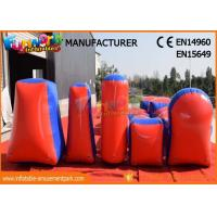 Wholesale Commercial Inflatable Paintball Bunkers / Adult Inflatable Nerf Arena from china suppliers