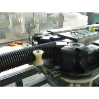 Double Layer Water Drainage Corrugated Pipe Machine / Equipment 80Kw Power Manufactures