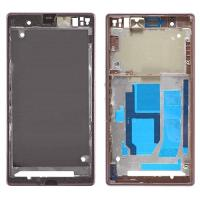 Wholesale Front Frame Cover Housing for Sony Xperia Z1, L39, C6902, C6903, C6943 Black from china suppliers
