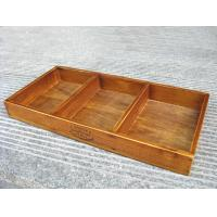 Buy cheap 66603 wooden case, wooden box, decorative storage box with grid from wholesalers