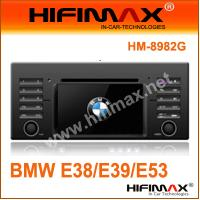 Buy cheap 7''Car DVD player (DVB-T option) for BMW 5 E39(1996-2003);E53 X5(1999-2006) from wholesalers